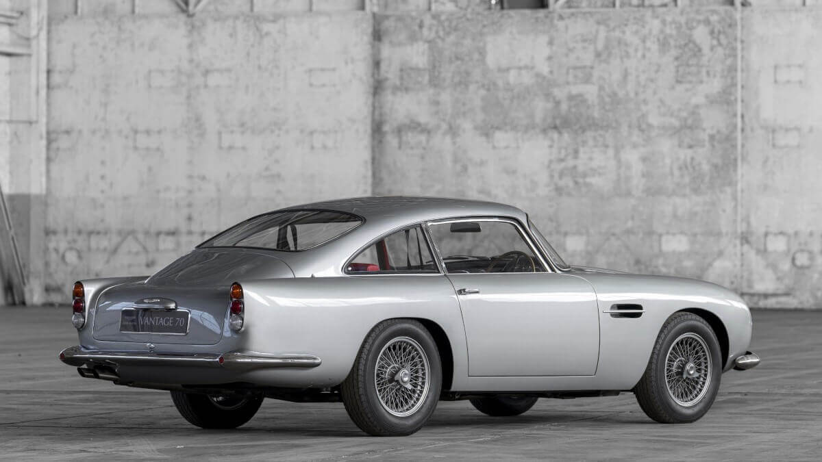 Aston Martin Db4 Vantage Secret Classics