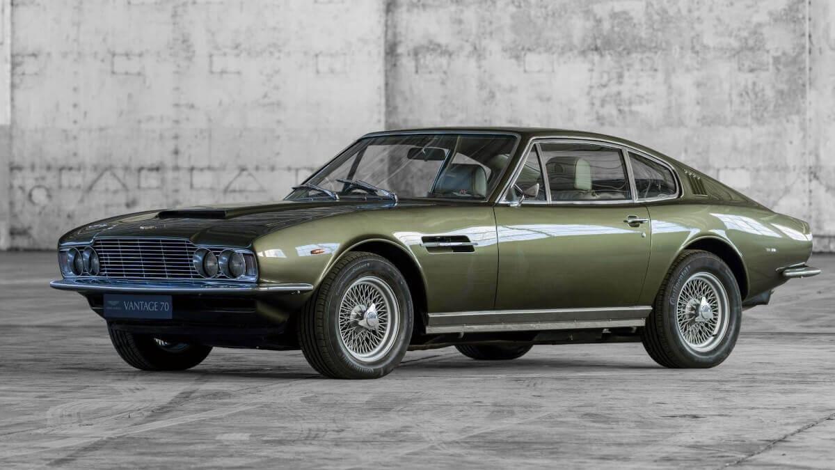 Aston Martin Dbs Vantage Secret Classics