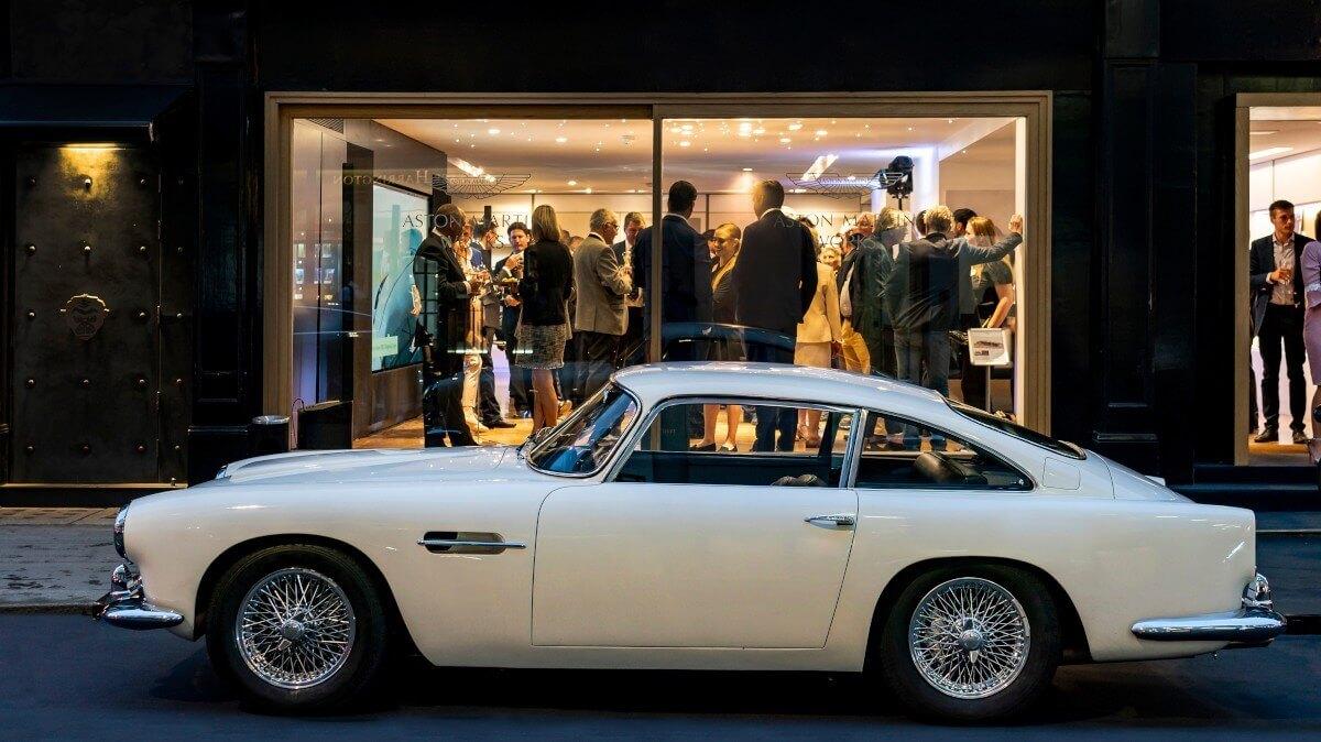 Aston Martin Works Showroom Secret Classics