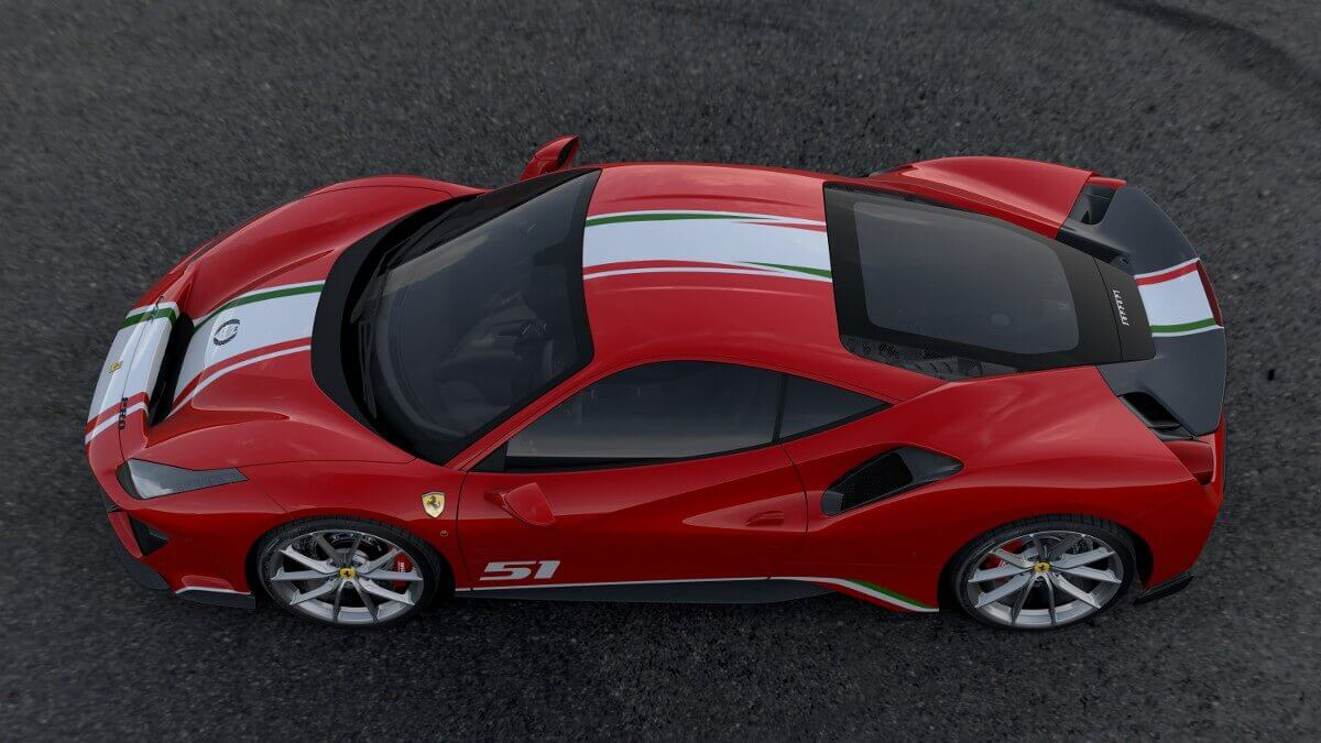 Ferrari 488 Pista Tailor Made Secret Classics